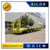 40FT 20FT Container Chassis Lowbed Semi Trailer Flatbed Semi Trailer for Sale