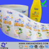 Transparent Vinyl Shampoo Bottle Sticker (SZ3087)
