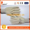 Ddsafety 2017 Cotton Blue Nitrile Glove Knitted Wrist Safety Gloves