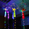 Silver Wire LED Bobo Balloon for Holiday, Party, Wedding 5m 50LEDs