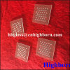 High Purity Clear Quartz Glass Disc with Holes