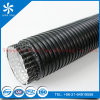 Black Aluminum Duct with Male and Female Side