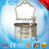 Hot Sale Bathroom Round Cabinet with Nature Marble From China by-F8011