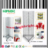 Steel Wire Mesh Floor Display/Galvanized Wire Mesh Panel Display Stand