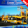 3 Axles Low Bed Loader Truck Trailer for Venezuela