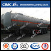 Cimc Huajun 42cbm 3axle Crude Oil Tanker for Sale