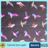 Clothing Rayon Fabric with Birds Printed Pattern