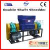 China Double Shaft Shredder for Aluminium Cans Shredding