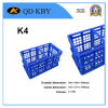 K4 Supermarket Nesting Plastic Foldable Crate for Vegetables and Fruits