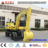 Cheap Small Wheel Excavator 6t Xn65-4L