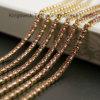 Decorative Ornaments Gold Setting Crystal Rhinestone Cup Chain