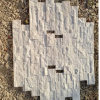 Exterior Wall Decoration Natural White Quartz Stone Veneer (SMC-SCP356)