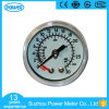40mm White/Black Steel/Plastic Case Medical Pressure Gauge