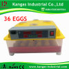 2017 Ce Approved Automatic Digital Small Egg Incubator for 36 Chicken Eggs