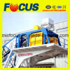 50~60cbm/H Low Cost Mobile Concrete Batching Plant, Yhzs50/60  Portable Concrete Mixing Plant