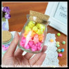 Decorative Mini Glass Jar with Cork Lid