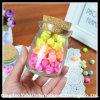 Decorative Mini Glass Jar with Cork Lid