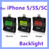 Ipega Alcohol Tester for iPhone 5 5c 5s iPad Mini/iPad 4 Breathalyzer with Backlight