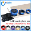 Universal Clip Lens 3 in 1 Fish Eye, Fish Eye Lens, Wide Angle and Macro Lens for All Samrt Phone