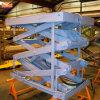 Hydraulic Scissor Lift Platform in Warehouse