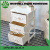 Bedroom Furniture Cupboard with 3 Drawer (W-CB-428)