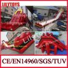 2016 Newest Design Red Color Inflatable Hippo Slide, Giant Hippo Slide Inflatable Water Slide for Beach