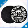 Custom Eco-Friendly Soft Embossed Raised Rubber PVC Patches