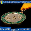 Cheap High Quality Custom Logo Souvenir Metal Medals with Ribbon