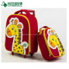 Children Rolley Bag on Wheels Kids Travel School Bag Set with Backpack