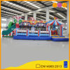 Circus Themes Playground Bouncer Inflatable Obstacle with Slide (AQ01694)