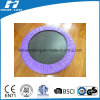 Round Mini Trampoline with Purple Frame Pad