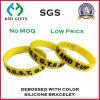 Custom Event Design Colorful Silicone Bracelet for Promotion