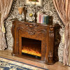 Hotel Furniture LED Lights Heater Electric Fireplace with Ce (330B)