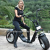 2017 New Design Removable Battery City Coco Electric Scooter with Factory Price