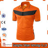 Wholesale Man Orange OEM Plain Short Sleeve Polo T-Shirt