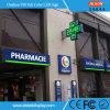 P10 Outdoor Single Color LED Cross Sign for Pharmacy