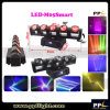 Stage Disco LED Lighting 5X12W RGBW 4in1 LED Beam Moving Head Light