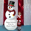Latest Fshionable Christmas Cardboard Cutout Standup Standee for Display Show
