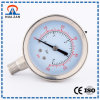 Stainless Steel Metal Durable Oil Filed Pressure Gauge