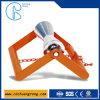 Adjustable Pipe Saddle Support Roller
