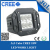 18W 4X4 4WD Quad LED Work Light