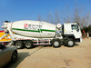Enxin Brand Concrete Mixer Truck/3-Axis/Low Price and High Quality
