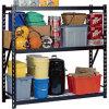 Middle Duty Rack Powder Coated Industrial Storage Steel Shelving