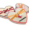 High Quality Heart Chocolate Gift Box with Paper Dividers
