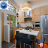Thermoformed PVC Vinyl Contemporary Kitchen Cabinet Home Furniture