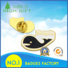 Epoxy and Soft Enamel Fisth/Bird Lapel Pin Badge with Alloy