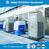 100 Kw Air Conditioner Heat Exchanger for 500sqm Exhibition 220V 60Hz
