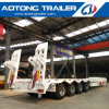 Hydraulic Ramp 80tons Low Bed Truck Semi Trailers for Sale