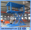 CE Car Lift Double Platform Car Parking Lift Scissor Car Lift