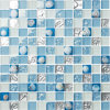 China Bathroom Tiles Glass Mosaics